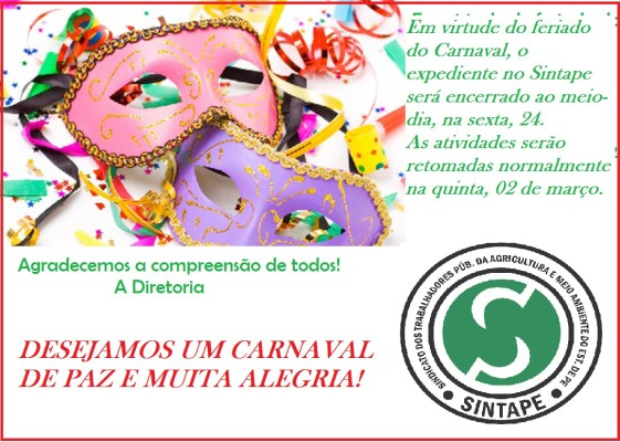 COMUNICADO EXPEDIENTE CARNAVAL 2017