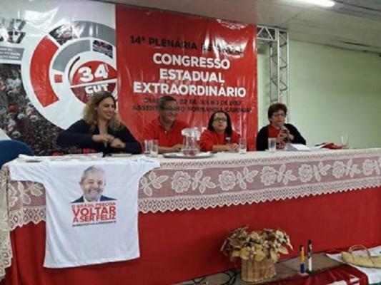 Presidente do Sintape participa de Congresso Estadual da CUT